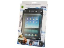 Overboard Waterproof iPad Case with Rear Hand Loop and Shoulder Strap OB1086BLK